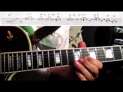 how to play fade to black solo