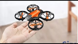 V8 New Mini Drone 4K 1080P HD Camera WiFi Fpv Air Pressure Height Maintain Foldable Quadcopter