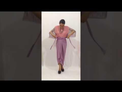 Video Tutorial Memakai Rok Lilit | Grosirkebaya.net & Kebayadiva.com