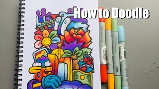 How To Doodle Like A GOD In 4 Minutes And 40 Seconds