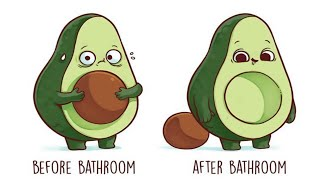 21 Hilariously Relatable Before & After Illustrations By Spanish Artist Nacho Diaz