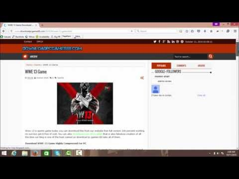 Download How To Download WWE 13 For PC - Game Full Version Mp4 HD Video and MP3