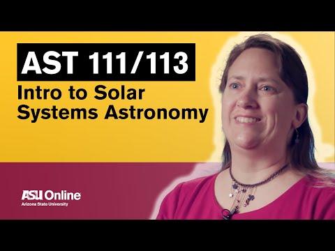 Intro Into Astronomy Class