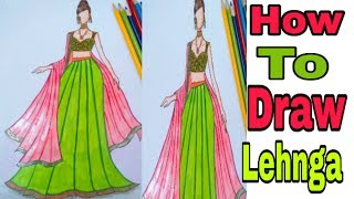 Fashion Illustration For Beginners/Drawing Dress Designs