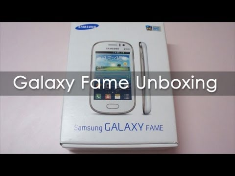 Samsung Galaxy Fame Budget Android Phone Unboxing