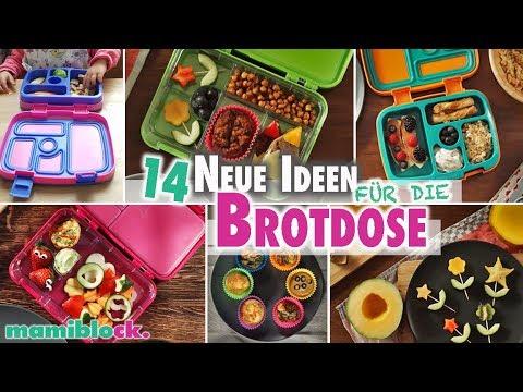 14 Ideen für die Brotdose 🥯🍌🍎| Rezepte | Kindergarten & Schule | mamiblock
