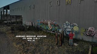 Abandoned Warehouse FPV Drone Session ????️