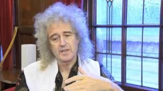 Brian May on Freddie's Legacy - 1 Dec 2011