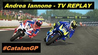 MotoGP 2018 Mod | Andrea Iannone | #CatalanGP | TV REPLAY PC GAME