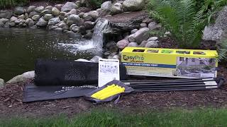 EasyPro Deluxe Pond Cover Tent Assembly Instructions