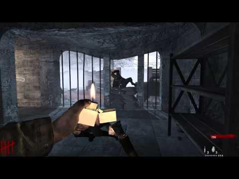 Выживание Call of Duty World At War- Зомби нацисты или прохождение карты