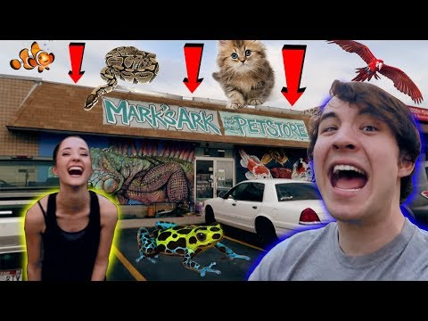 journey to the WORLD'S MOST EPIC PET STORE?! (we got EVEN MORE!!)