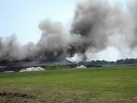 Stalbrand in Landhorst