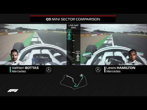 How Bottas Beat Hamilton To Pole | 2019 British Grand Prix