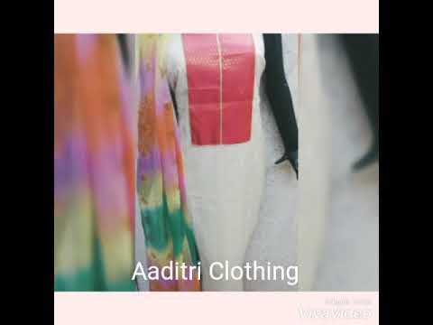 Jute Silk Dress Material