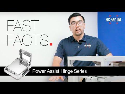 Power Assist Hinge: HG-PA Hinge Series