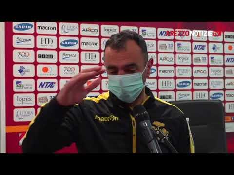 Ravenna-Arezzo 1-1, intervista a mister Colucci
