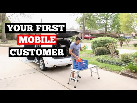 How To Handle Your FIRST Mobile Detailing Customer- Car Detailing Business Tips