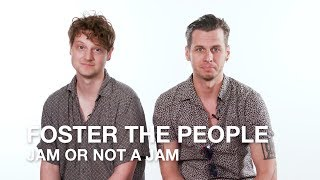 Foster The People Plays Jam Or Not A Jam