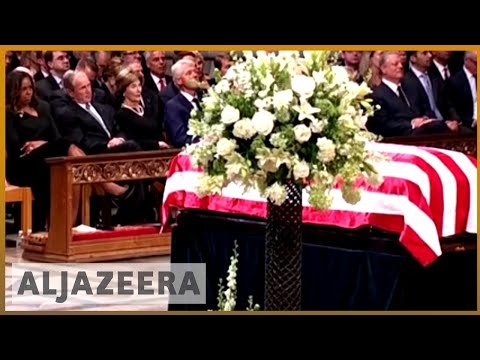 🇺🇸 US politicians across political divide gather to remember John McCain | Al Jazeera English