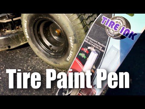Permanent Tire Ink Paint Pen For Car Tires Review