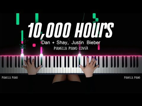 Dan + Shay, Justin Bieber - 10,000 Hours (Piano Cover with Lyrics) by Pianella Piano