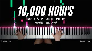 Dan + Shay, Justin Bieber   10,000 Hours (Piano Cover With Lyrics) By Pianella Piano