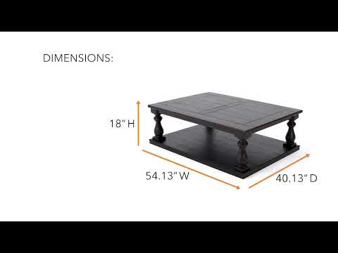 Mallacar T880-1 Rectangular Cocktail Table