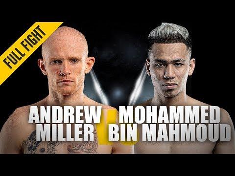 Andrew Miller vs. Mohammed Bin Mahmoud | Muay Thai Masterclass | ONE Full Fight | May 2019