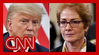 Attorney: Trump caught on tape demanding ambassador's firing