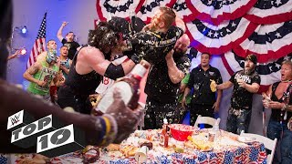 Craziest food fights: WWE Top 10, June 2, 2018