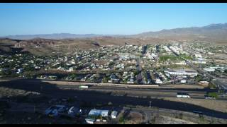 Kingman Arizona Truck Stop Drone Footage