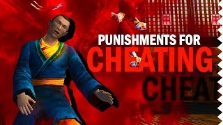 10 Video Game Punishments & Consequences For Cheating!