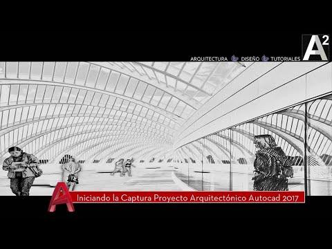 Iniciando captura proyecto arquitect nico autocad 2017 for Proyecto arquitectonico pdf