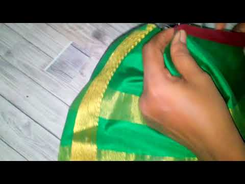 Convert Old Saree Into Long Gown Diy Long Gown Dress Amazing