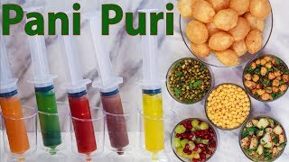 How To Make Pani Puri Ka Flavoured Pani Masala Golgappa Puchka Gupchup