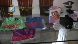 Lotta alla contraffazione in Puglia, sequestrati in due giorni 4 milioni di articoli falsi: 44 denunce - IL VIDEO