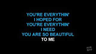 You Are So Beautiful in the style of Joe Cocker karaoke video with lyrics
