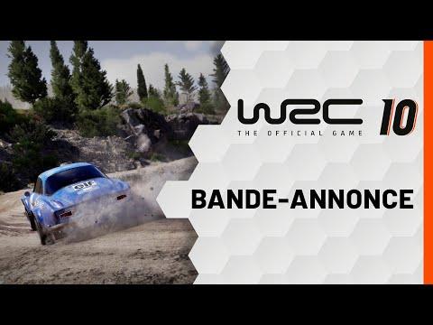 Bande-annonce de lancement de WRC 10
