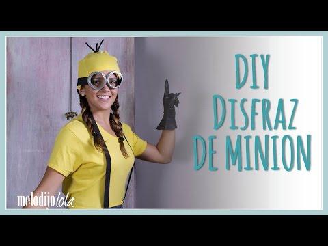 DIY Disfraz de minion | Disfraces fáciles para Halloween | DIY disfraces