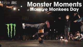Monster Moments at MASSIVE MONKEES DAY 2017 // .stance // udeftour.org