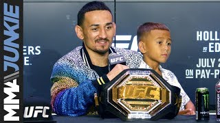 UFC 240: Max Holloway post-fight interview