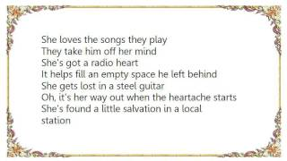 Charly McClain - Radio Heart Lyrics