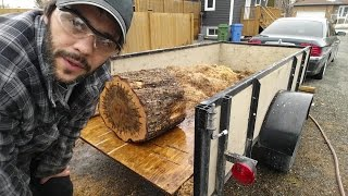 Woodturning: Blank and new BandSaw