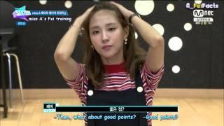 [ENG SUB] 150630 Mnet Sixteen E9 - Fei cut