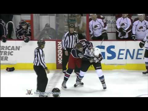 Cody McLeod vs Jared Boll