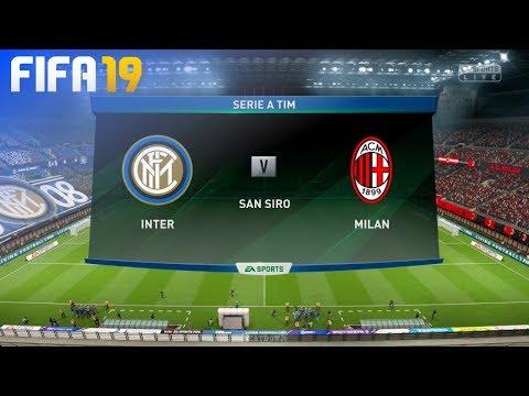 FIFA 19 - Internazionale vs. AC Milan @ San Siro