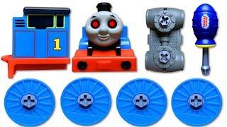 きかんしゃトーマスプラレール おばけ電車! リュウソウジャー トミカプラレールがゴードンを助ける!?Thomas&Friend Ghosttrain
