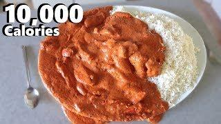 Massive Indian Curry Platter (10,000 Calorie Feast) thumbnail