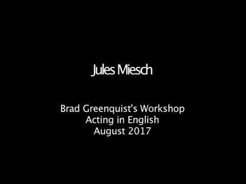 Acting in English Workshop - Los Angeles